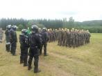 Šiaulių tardymo izoliatoriaus pareigūnai lankėsi Jaunųjų šaulių stovykloje