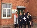 Suomijos Bausmių vykdymo tarnybos pareigūnų delegacijos vizitas Panevėžio pataisos namuose