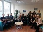Vilniaus apygardos probacijos tarnybos mediatorių susitikimas su Erasmus programos studentais