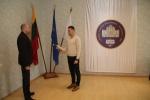 Lietuvos valstybei prisiekė tarnauti naujai priimtas pareigūnas