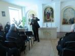 Pareigūnus tarnyboje Šventų Velykų proga pasveikino Kauno arkivyskupas