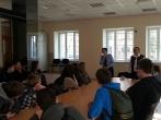 Susitikimas su Rokiškio J.Tumo Vaižganto gimnazijos moksleiviais ir pedagogais