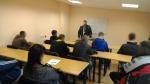 Susitikimas su Klaipėdos apskrities VPK Kelių policijos tarnybos Veiklos organizavimo ir prevencijos poskyrio specialistu