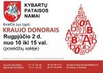 Kybartų pataisos namai kviečia tapti kraujo donorais