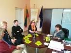 Gerosios patirties perėmimo vizitai Tautinių bendrijų namuose bei Vilniaus suaugusiųjų mokymo centre