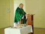 Artėjant Vėlinėms, įstaigoje buvo aukojamos Šv. Mišios