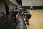 """Probacijos tarnybos prižiūrimi jaunuoliai laisvalaikį leidžia su """"Žalgirio"""" krepšininkais"""