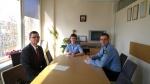Susitikimas su Vaikų teisių apsaugos skyriaus atstovu vedėjo pavaduotoju E. Zakševskij