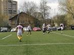 Organizuotas futbolo turnyras tarp pusiaukelės namų nuteistųjų komandų