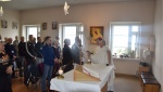 Vilniaus pataisos namuose lankėsi vyskupas  Darius Trijonis