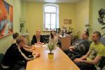 Psichologinė tarnyba ir Vilniaus universiteto studentės vedė užsiėmimą nuteistiesiems
