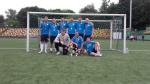 Įstaigos pareigūnai šventė pergalę tarptautiniame futbolo turnyre