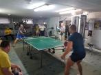 Stalo teniso ir žiedų varžybos tarp nuteistųjų ir negalią turinčių žmonių