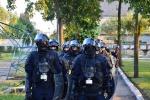 Pareigūnų atsakas į nuteistųjų galios demonstravimą