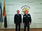 Prisiekė tarnauti Lietuvos valstybei naujai priimtas į pareigas pataisos pareigūnas