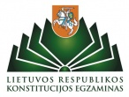 Įstaigoje vyko 12-ojo Konstitucijos egzamino II-asis etapas