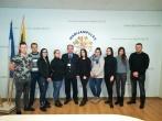 Įstaigoje lankėsi Marijampolės kolegijos studentai