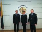 Prisiekė tarnauti Lietuvos valstybei naujai priimta į pareigas pataisos pareigūnė