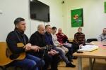 Susitikimas su Vyrų maldos grupės savanoriais