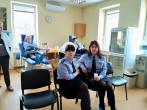 Lietuvos probacijos tarnybos Šiaulių regiono skyriaus pareigūnai prisijungė prie kraujo  donorystės akcijos