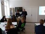 Lietuvos probacijos tarnybos Vilniaus regiono skyriaus pareigūnai lankėsi Trakų Vytauto Didžiojo gimnazijoje