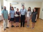 Aptartos suimtųjų (nuteistųjų) profesinio mokymo galimybės su Kauno statybos ir paslaugų Mokymo centro atstovais