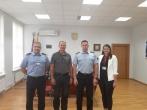 Susitikimas su Kauno apskrities centro policijos komisariato viršininku Giedriumi Klimavičiumi