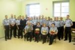 Vilniaus pataisos namuose atsisveikinta su  išeinančiais iš tarnybos pareigūnais