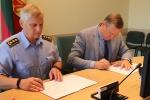 Pasirašyta bendradarbiavimo sutartis su savivaldybe