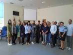 Susitikimas su Rokiškio rajono savivaldybės Visuomenės sveikatos biuro atstove