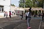 Savanoriai skatino nuteistąsias pokyčiui užsiimant aktyvia sporto veikla