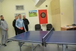 Suimtieji varžėsi tarpusavyje stalo teniso ir smiginio turnyruose