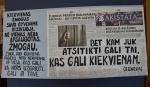 """Nuteistųjų sukurti socialinės reklamos plakatai dalyvaus tarptautiniame Erasmus+ projekte ,,Climb Over"""""""