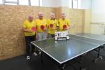 Sporto veteranų klubas pakvietė į stalo teniso turnyrą
