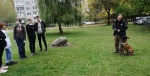 Vilniaus pataisos namų kinologas pristatė mokiniams kinologo darbą