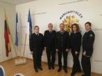 Prisiekė tarnauti Lietuvos valstybei naujai priimtos į pareigas pataisos pareigūnės