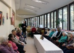 Pirmojo sektoriaus pareigūnai lankėsi Panemunės senelių namuose