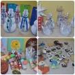 Nuteistųjų rankų darbo dovanos vaikų darželių auklėtiniams