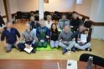 """Tarptautinės organizacijos """"Art of living"""" savanorė nuteistuosius mokė kvėpavimo pratimų ir meditacijos"""