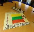 Nuteistieji minėjo vasario 16-ąją – Lietuvos valstybės atkūrimo dieną
