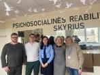 Susitikimas su RPLC Panevėžio filialo  priklausomybės specialistų komanda