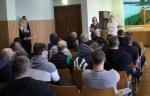 """Paskaita """"Konfliktų valdymas"""" Vilniaus pataisos namų nuteistiesiems"""
