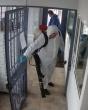 Įstaigoje atlikta pilna nuteistųjų bendro naudojimo ir tarnybinių patalpų dezinfekcija