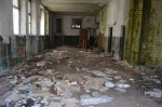 Buvusioje pataisos namų teritorijoje pradėti užterštos teritorijos tvarkymo darbai