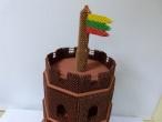 Vasario 16-osios proga nuteistasis sukūrė Gedimino pilį