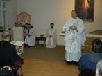 Arkivyskupo Gintaro Grušo apsilankymas Vilniaus pataisos namuose