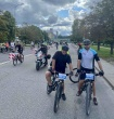 Vilniaus pataisos namų pareigūnai dalyvavo dviračių renginyje