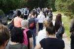 Nuteistieji su savanoriais ir pareigūnais dalyvavo piligriminiame žygyje į Šiluvą